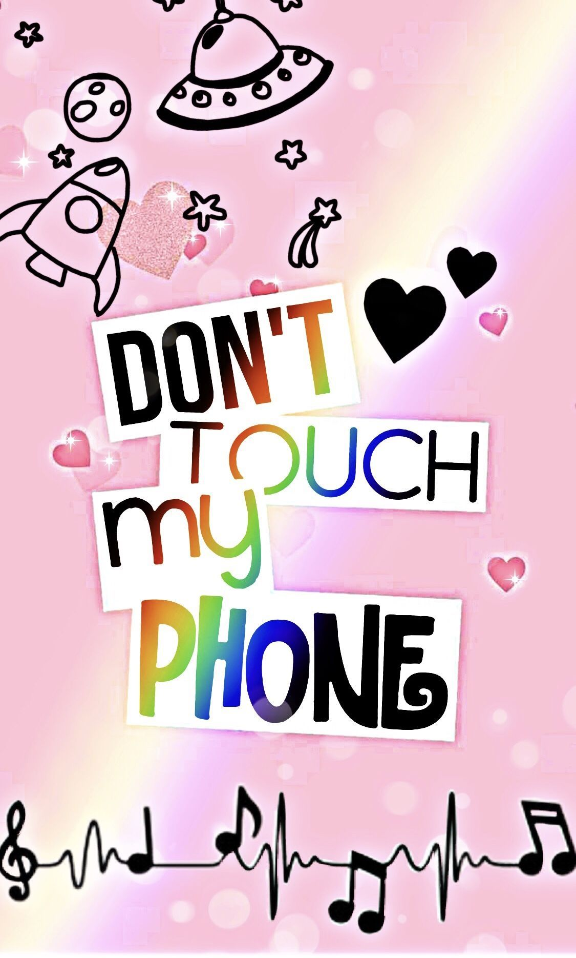 Trends For Girly Cute Rose Gold Dont Touch My Phone Wallpaper Wallpaper In 2020 Dont Touch My Phone Wallpapers Cute Emoji Wallpaper Funny Phone Wallpaper