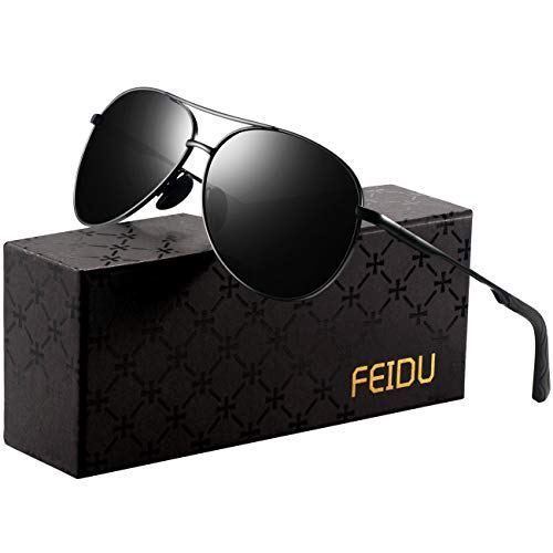 15fe23a7740 Polarized Sunglasses Aviator Sunglasses for Men - FEIDU Polarized Aviator  Sunglasses for Men Sunglasses Man FD9002