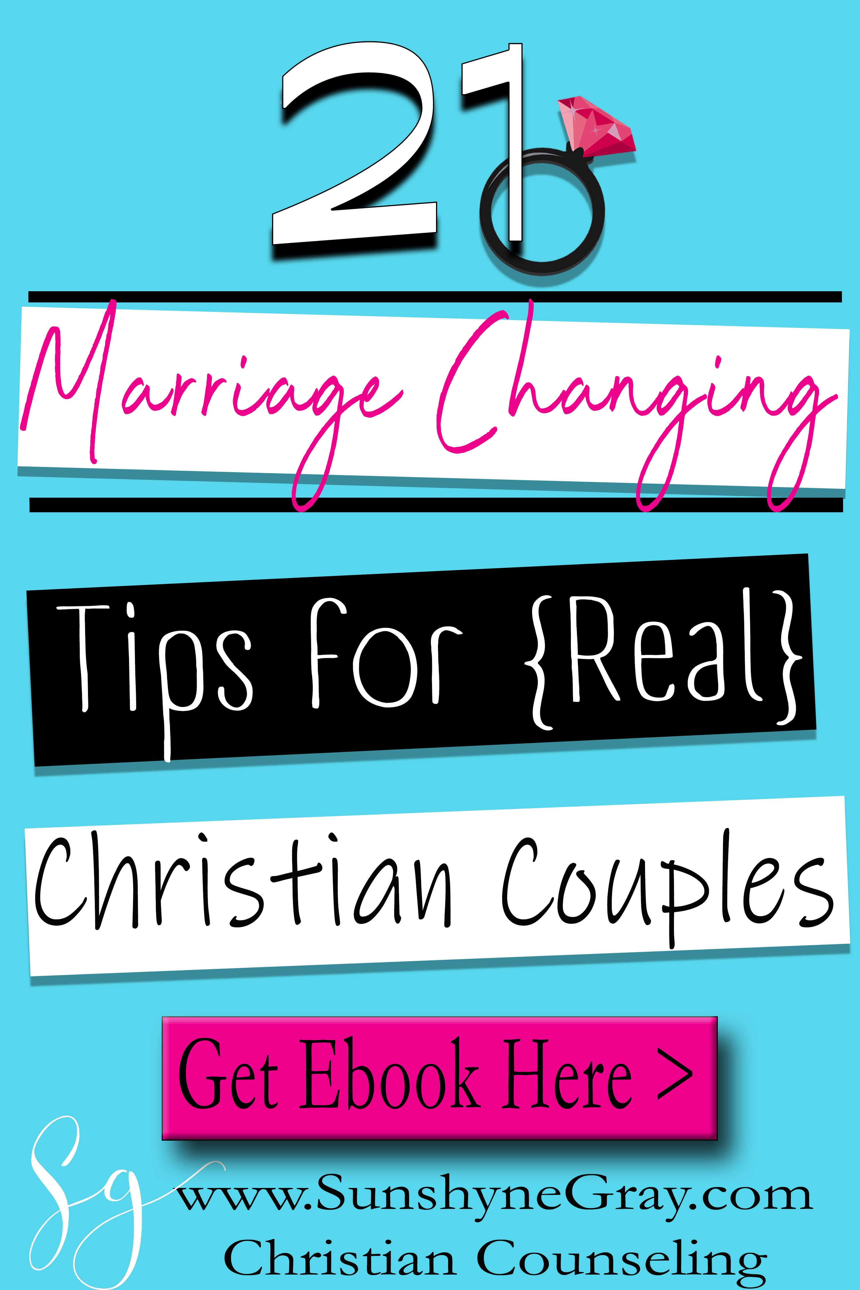 Christian Marriage Tips Ebook
