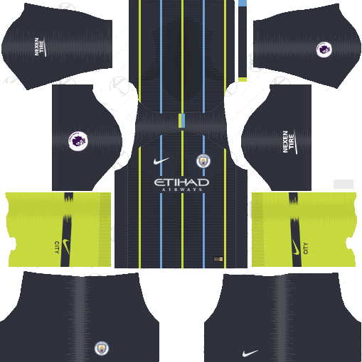 Manchester City Away Kit 2018 19 Dream League Soccer Kits Url 512x512 Soccer Kits Real Madrid Kit World Cup Kits
