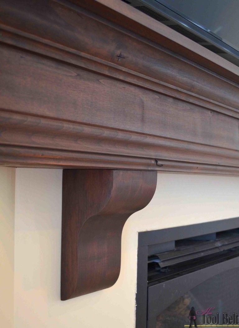 Diy Fireplace Mantel Shelf