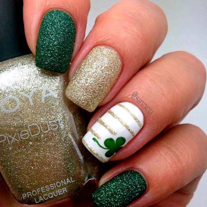 43 Super Fun St Patricks Day Nail Art Ideas