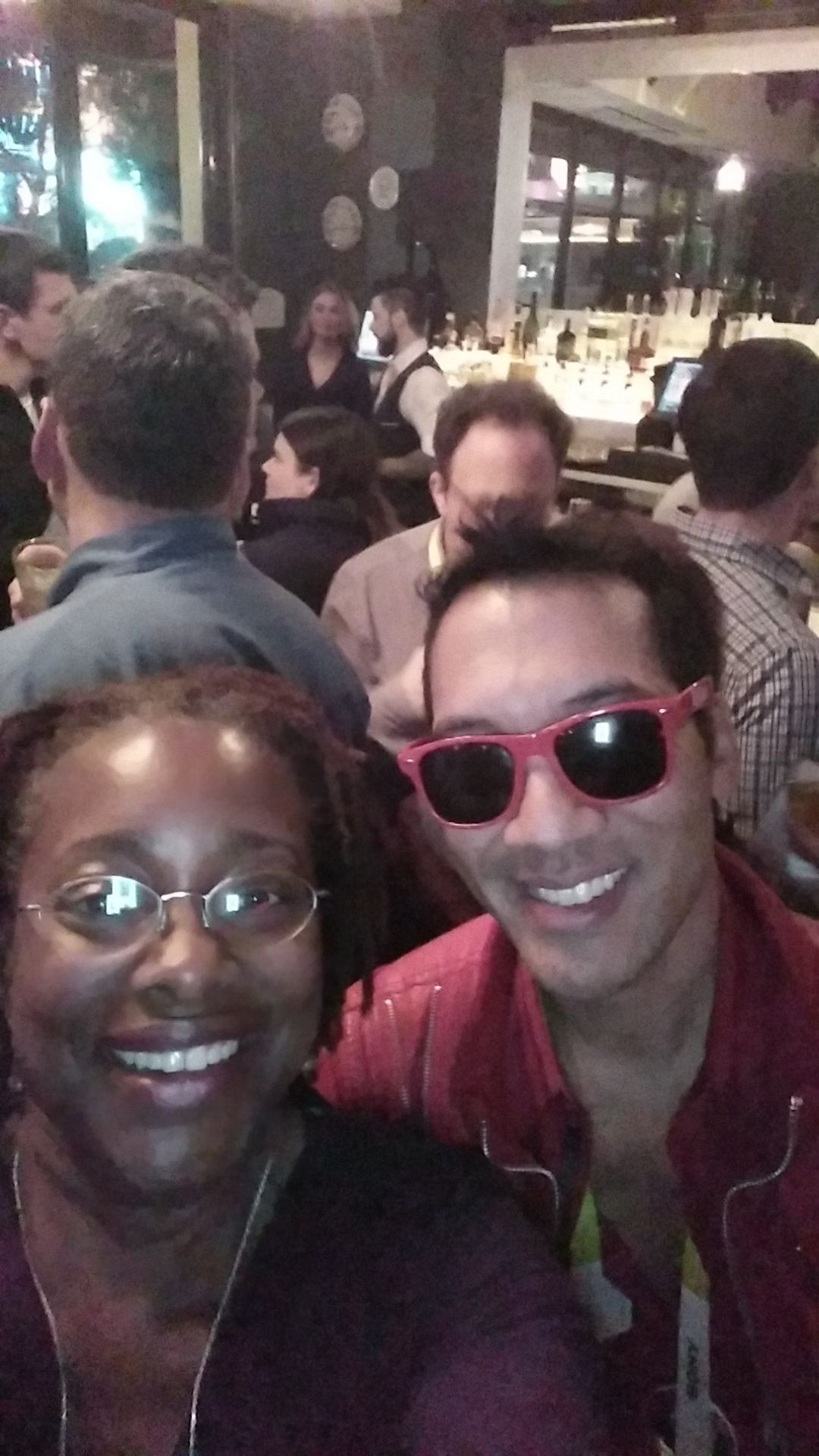 Hanging with Kevin at a Digital LA hosted party!