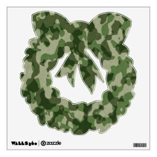 Green Tundra Camo Custom Wall Decal