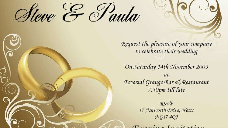 Sample Wedding Invitation Quotes Friends