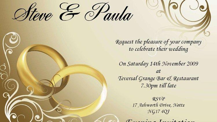 Editable Wedding Invitation Templates Free Download Editable
