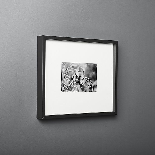 Gallery Black Frame With White Mat 4x6 Reviews Picture Frames 11x14 Picture Frame Picture Frame Gallery