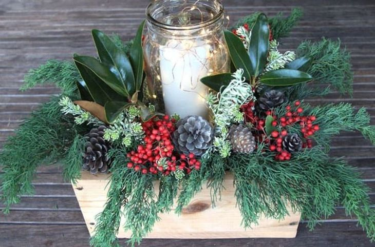 35 Simple Beautiful Christmas Centerpieces Ideas That Every People