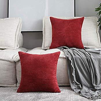 Amazon Com Home Brilliant Decor Super Soft Plush Corduroy