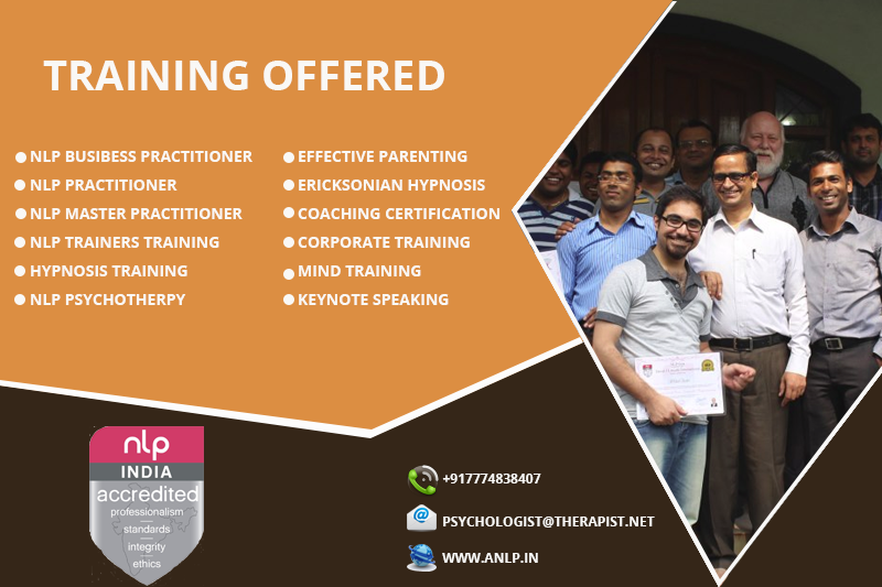 ANLP India offers NLP training programs and therapy, and ...