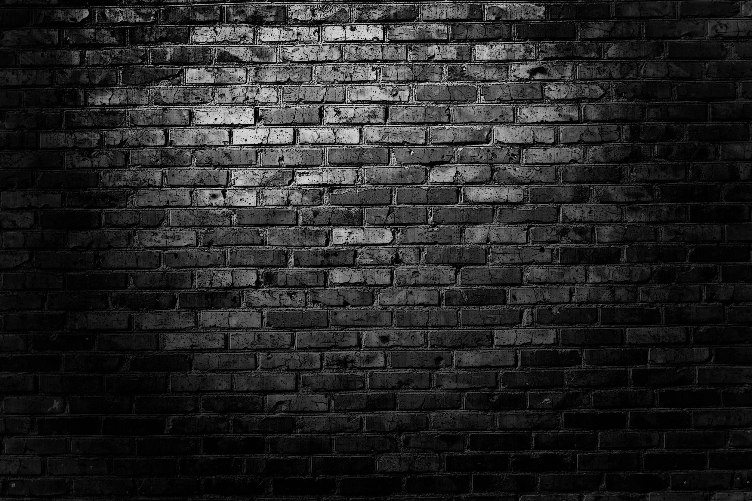 Dark Wall Wallpapers Top Free Dark Wall Backgrounds Wallpaperaccess Black Brick Wall Black Brick Wallpaper Brick Wall Background