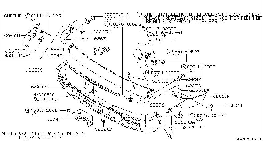 1996 Nissan Pathfinder Oem Parts Nissan Pathfinder Nissan Pathfinder
