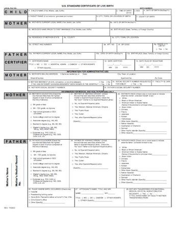 15 Birth Certificate Templates (Word \ PDF) - Template Lab ha ha - certificate templates word