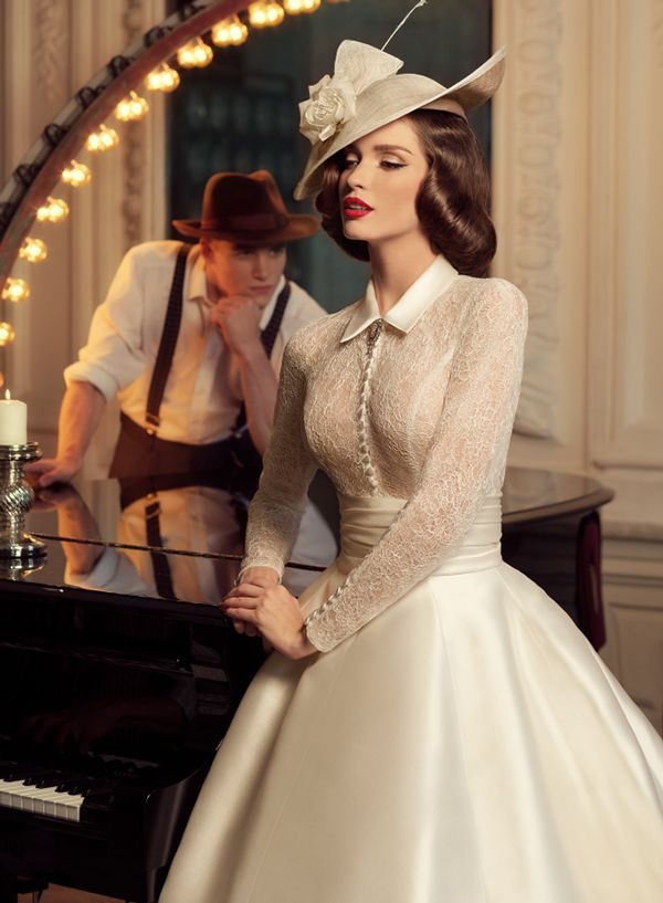 Tatiana Kaplun Bridal Collection 2015 Presents The Jazz Sounds Line As One Of The Bridal Dresses Ranges From The Russian Designer