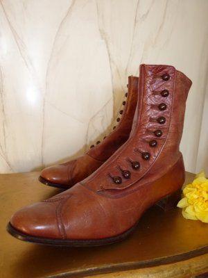 antike Schuhe, antike Stiefel, antike Knöpfstiefel, Schuhe 1900, antieke schoenen, bottines 1900, stivaletti 1900, antikes Kleid, Mode um 1900, Kostüm 1900, victorianische Schuhe