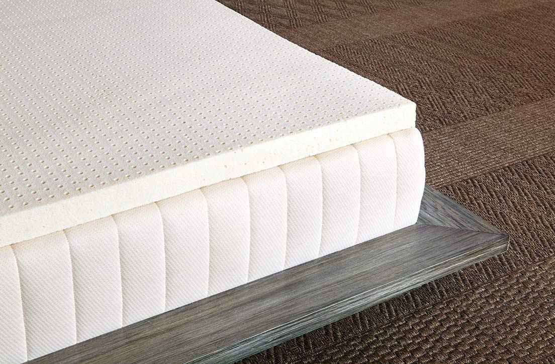 pure greena natural latex mattress topper latex mattress mattress
