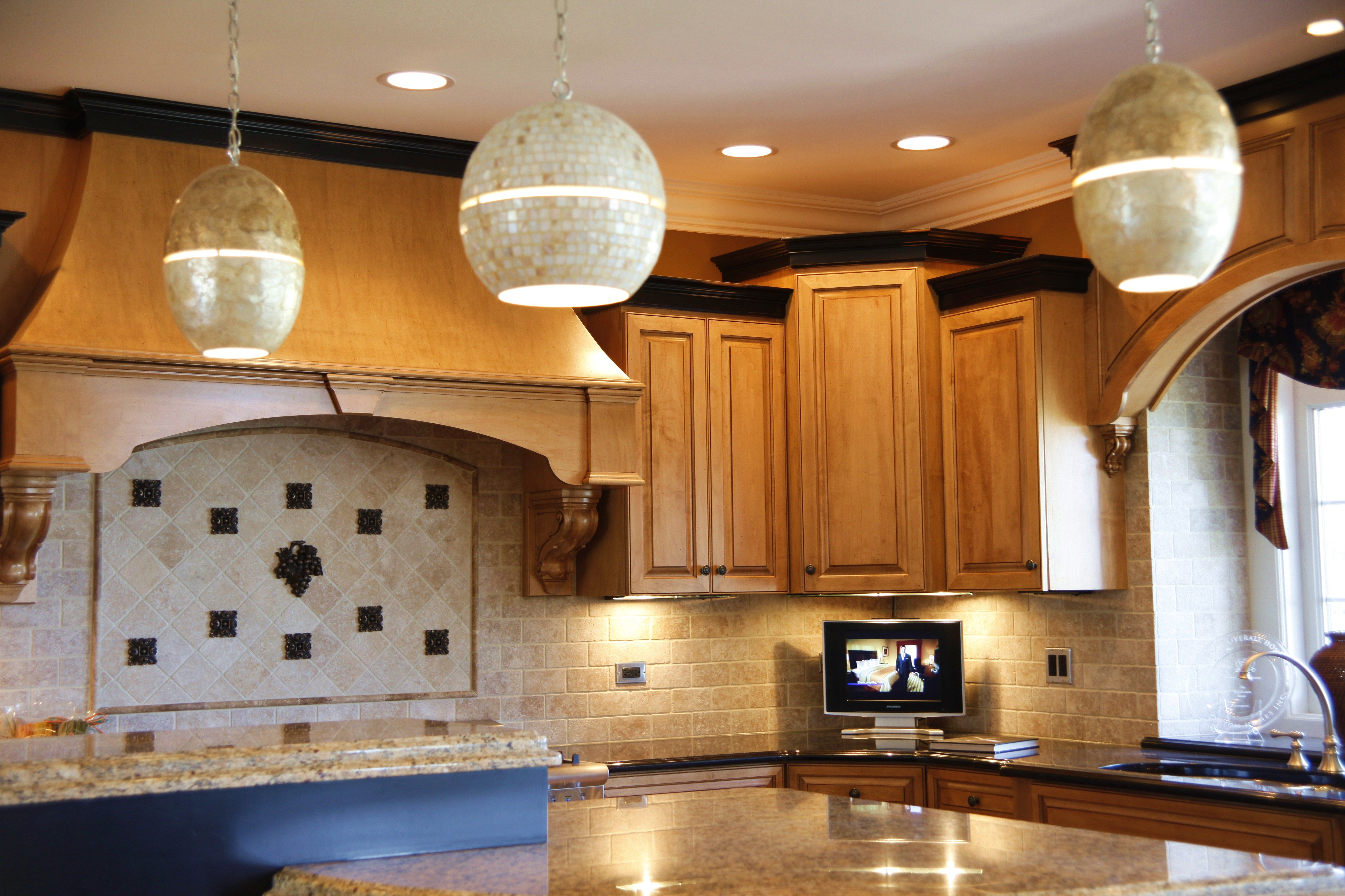 The Lighting Really Makes This Kitchen Shine Lighting Package In This Home Includes Our Under Cabinet Lighting Elegant Kitchen Design Above Cabinets Kitchen