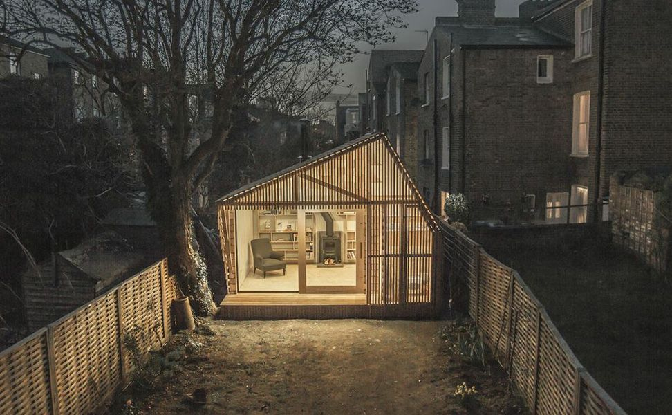 Writer's Shed in Hackney, London | HUH.