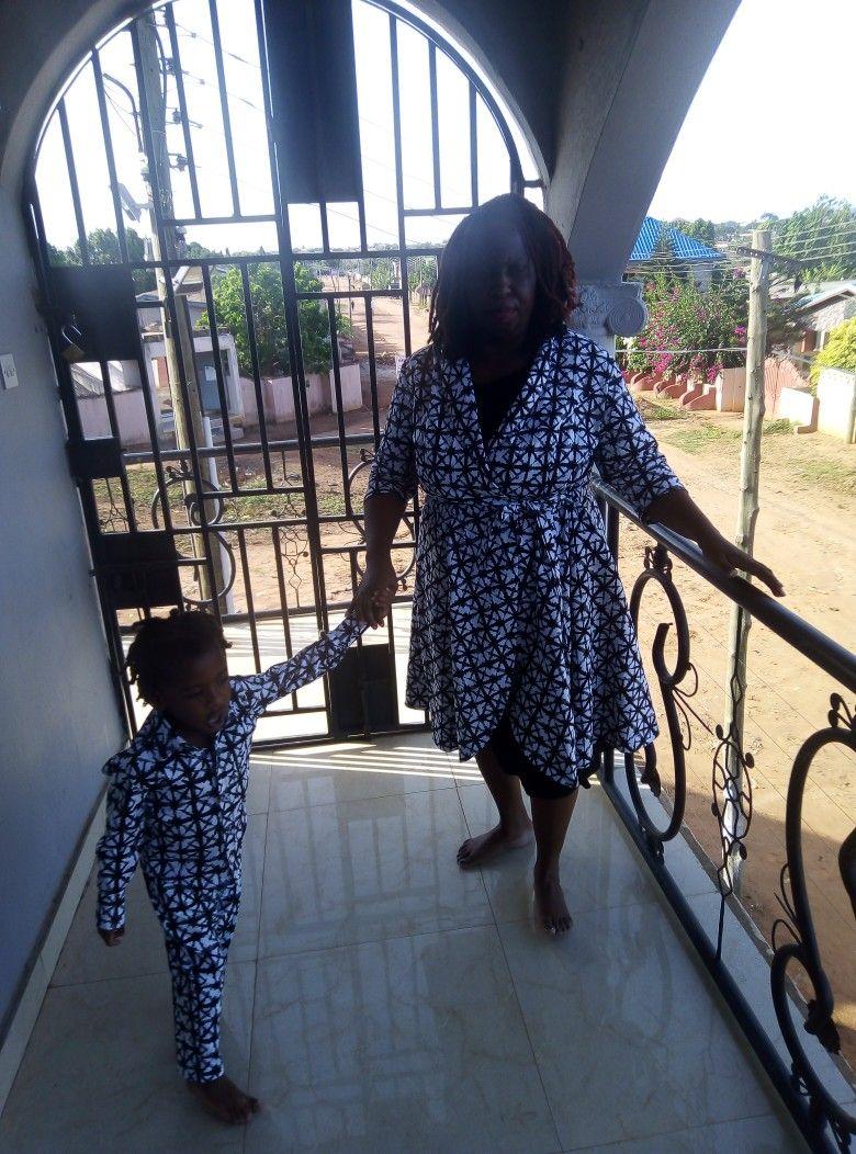 Miloadwa And His Mother Tawndalealockefarris At Hillcrest Apartments In Ofankor 2019 High Low Dress Fashion Dresses