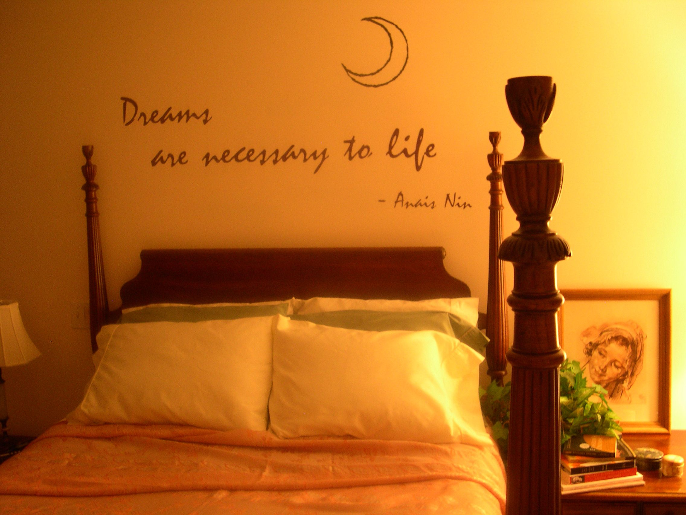 Words To Decorate Your Wall With Wall Sayings For Bedroom Dreams Quotes Promotion Shop Promotional