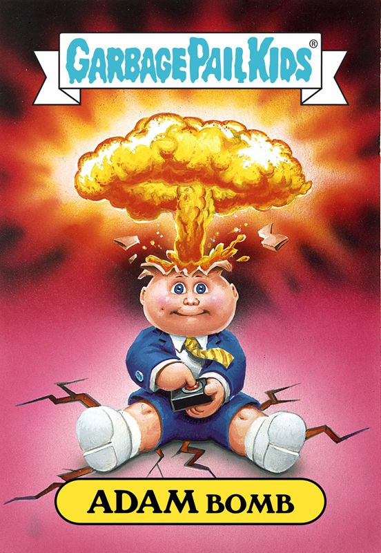 2c0fecedf64 Adam Bomb by Garbage Pail Kids ( 80's Collectible Cards   Retro ...