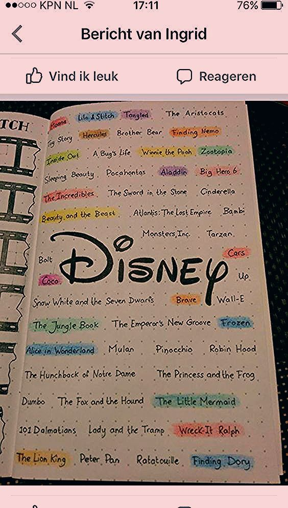 Photo of 20 Enchanting Disney Bullet Journal Spreads and Ideas to Spark Your Imagination – The Thrifty Kiwi