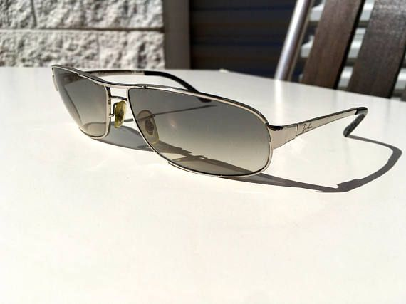 4ecd513e97 Vintage Ray Ban sunglasses made in Italy grey shaded glass lenses ...