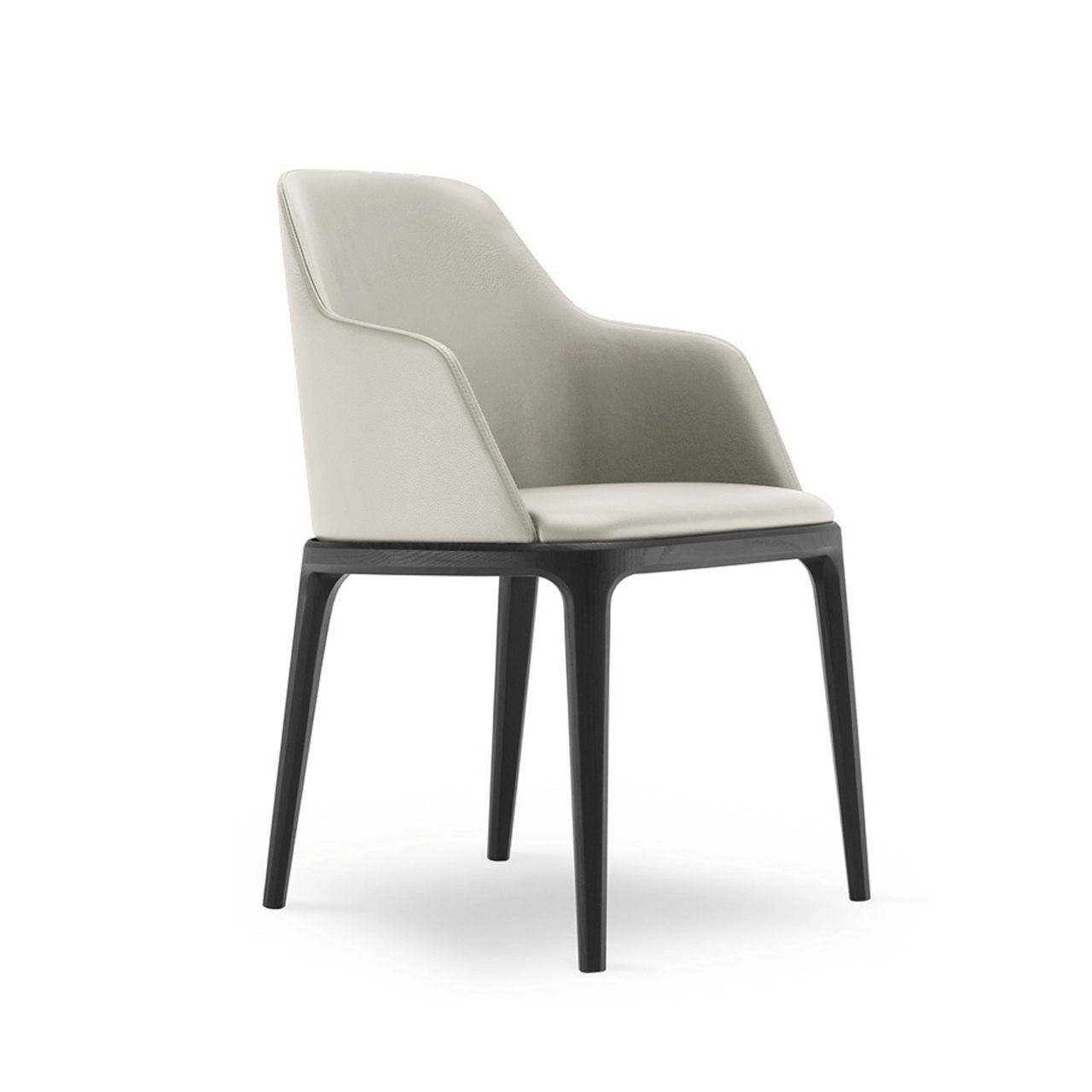Fabulous Chloe Dining Chair Black Stained Legs Dining Room Caraccident5 Cool Chair Designs And Ideas Caraccident5Info