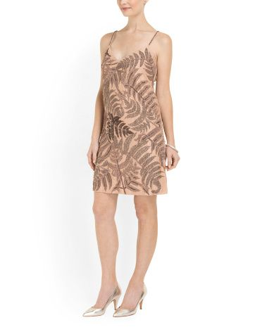 7d65fab1675b Beaded Shift Cocktail Dress - Dresses - T.J.Maxx | dresses ...