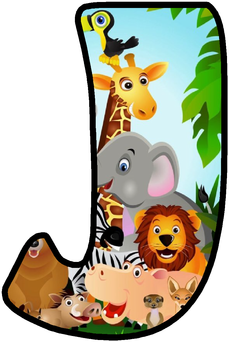 explore zoo print letters and more - Fun Letters To Print