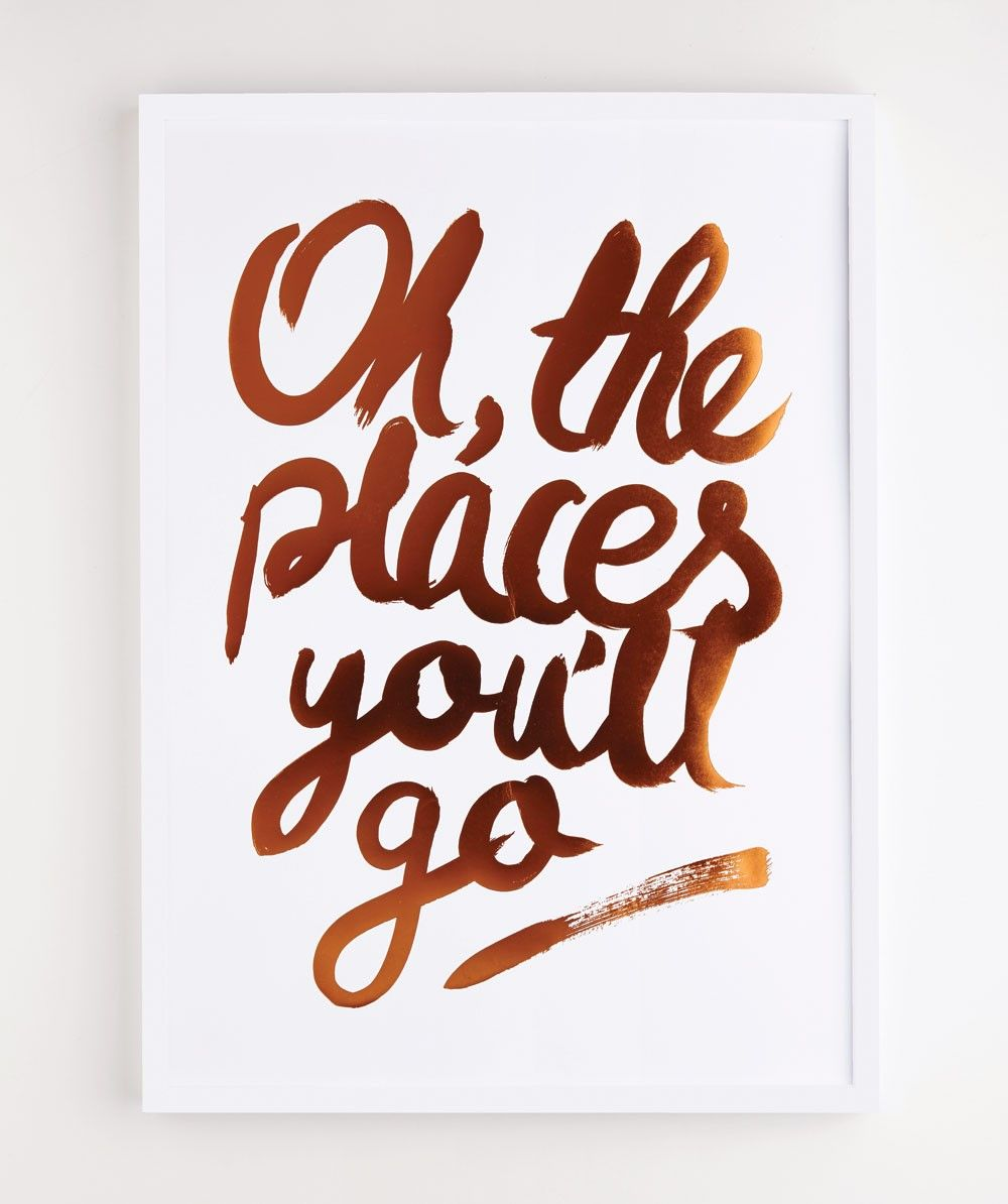 oh the places you