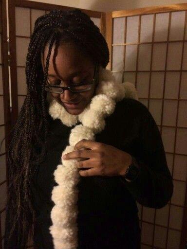 snowball scarf