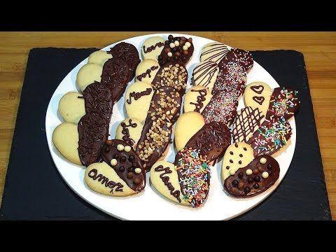 Recetas De Cocina En Youtube | Receta Galletas De Mantequilla Faciles Ideales Para Decorar