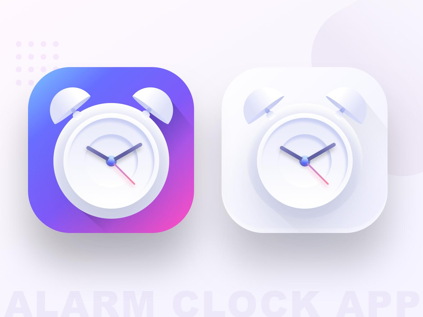 Alarm Clock App Icon Source App Icon App Logo Alarm Clock