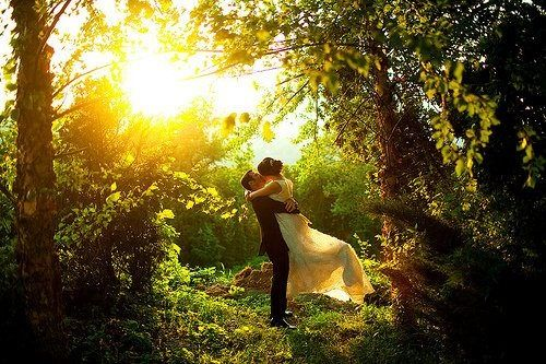 I'm having an outdoor forest wedding.....