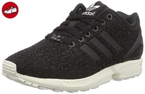 best authentic f02b2 7148f adidas Originals ZX Flux, Damen Sneakers, Schwarz (Core BlackCore Black