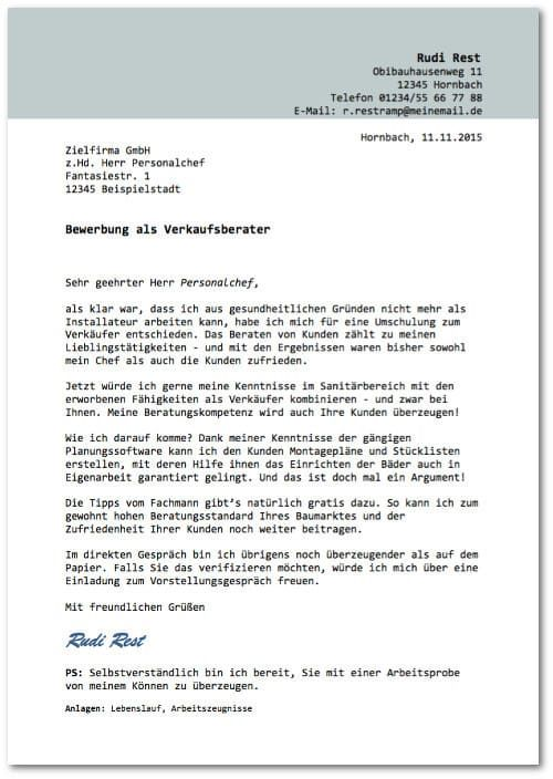 Bewerbungsvorlagen: Über 40 Gratis-Muster   Pinterest   Anschreiben ...