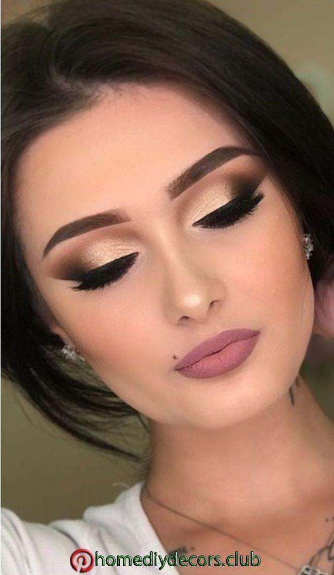 35 söta naturliga prom makeupidéer för att du ska se vackra 35 söta naturliga ... #makeupprom