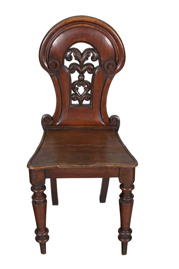 An attractive Victorian antique hall chair circa 1860. This piece would  look wonderful in any hallway or any quiet corner bringing a classic  English feel. - Victorian Antique Hall Chair In 2018 Awesome Antiques Chair