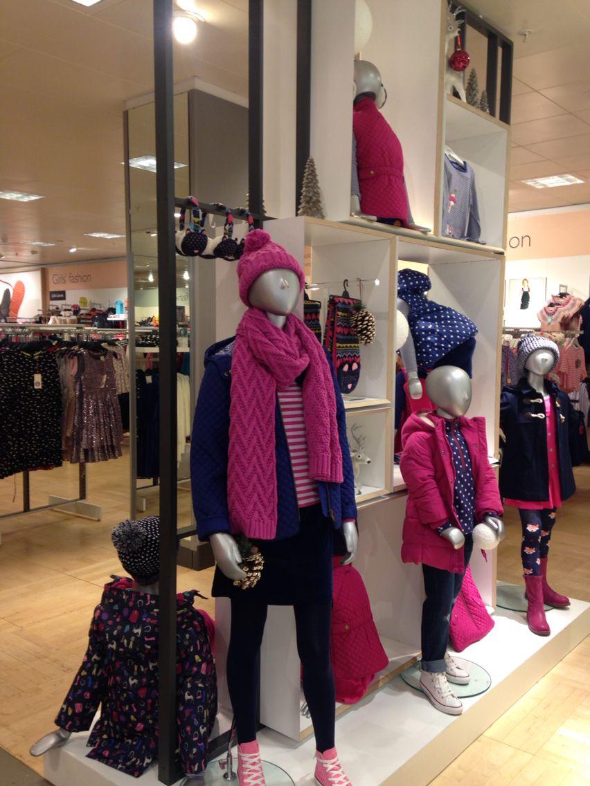 Kids visual merchandising display Vitrinas, Disenos de