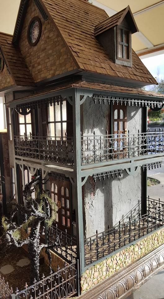 Haunted Dollhouse made from the Tennyson by Greenleaf #haunteddollhouse Haunted Dollhouse made from the Tennyson by Greenleaf #haunteddollhouse Haunted Dollhouse made from the Tennyson by Greenleaf #haunteddollhouse Haunted Dollhouse made from the Tennyson by Greenleaf #haunteddollhouse