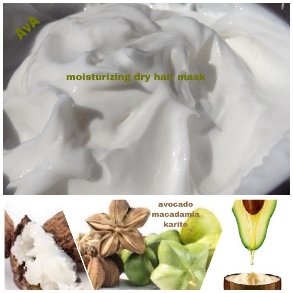 Photo of Conditioner mask for curly and frizzy hair