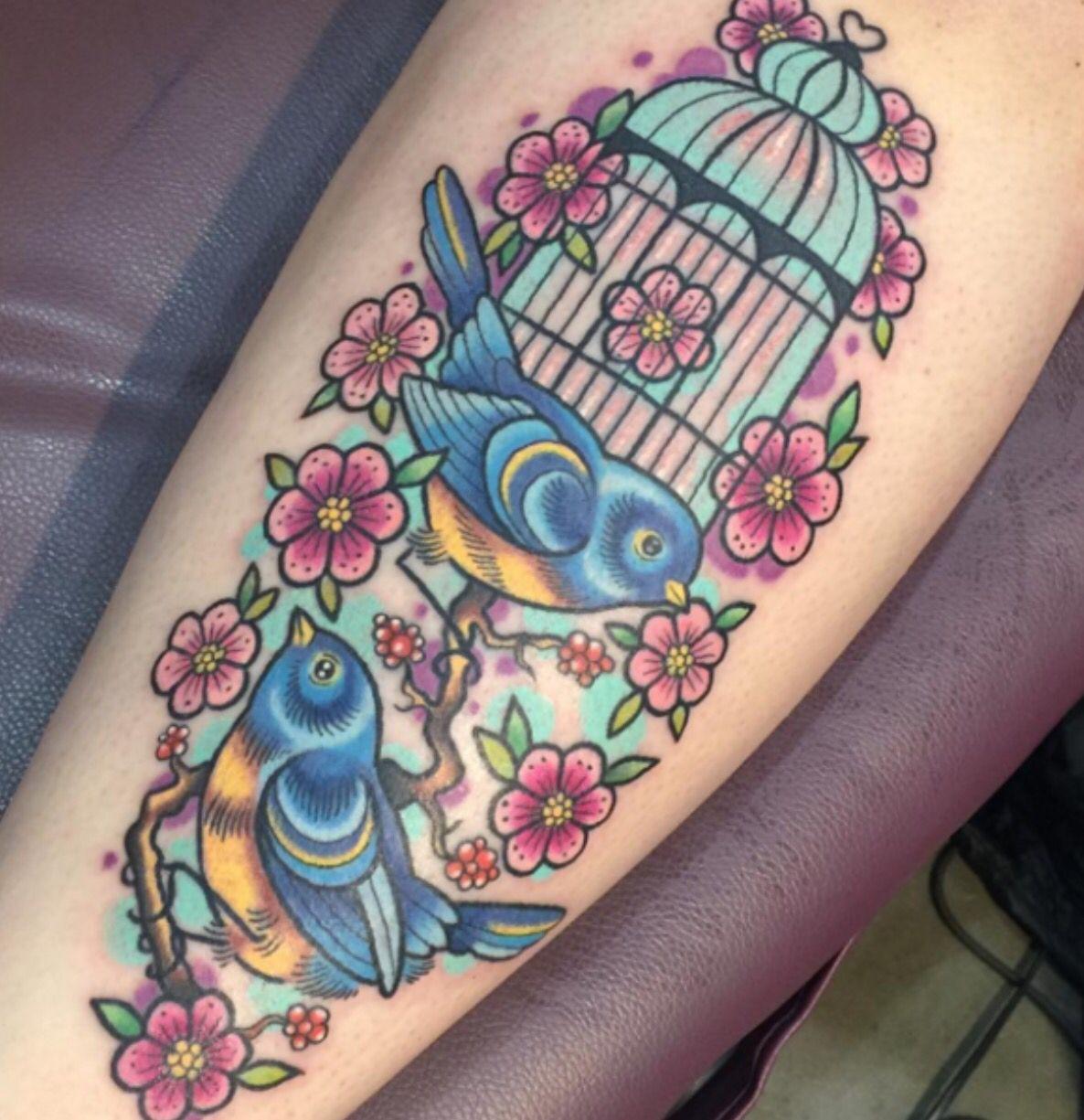 Ideas about bird tattoos on pinterest tattoos - Bird Cage Tattoo