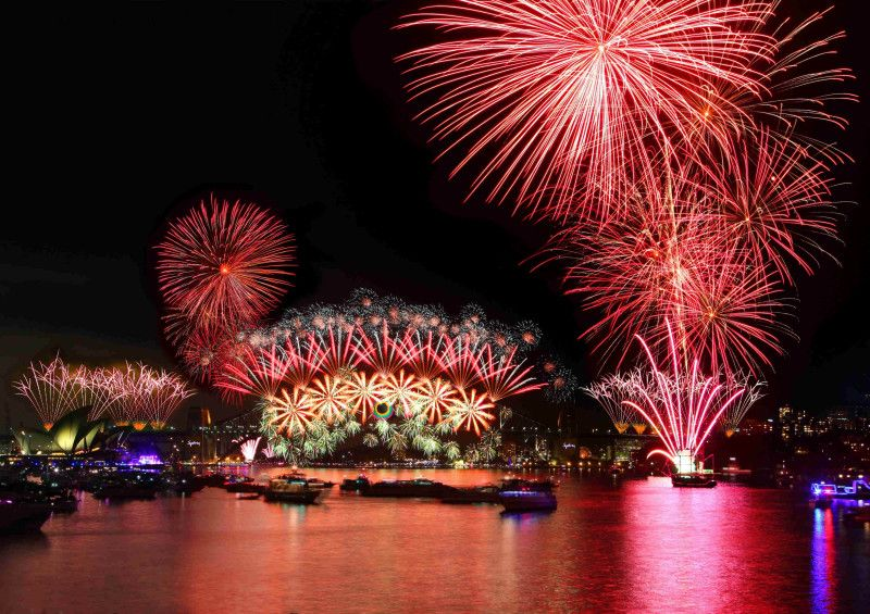 The New Year With The Most Extravagant Fireworks