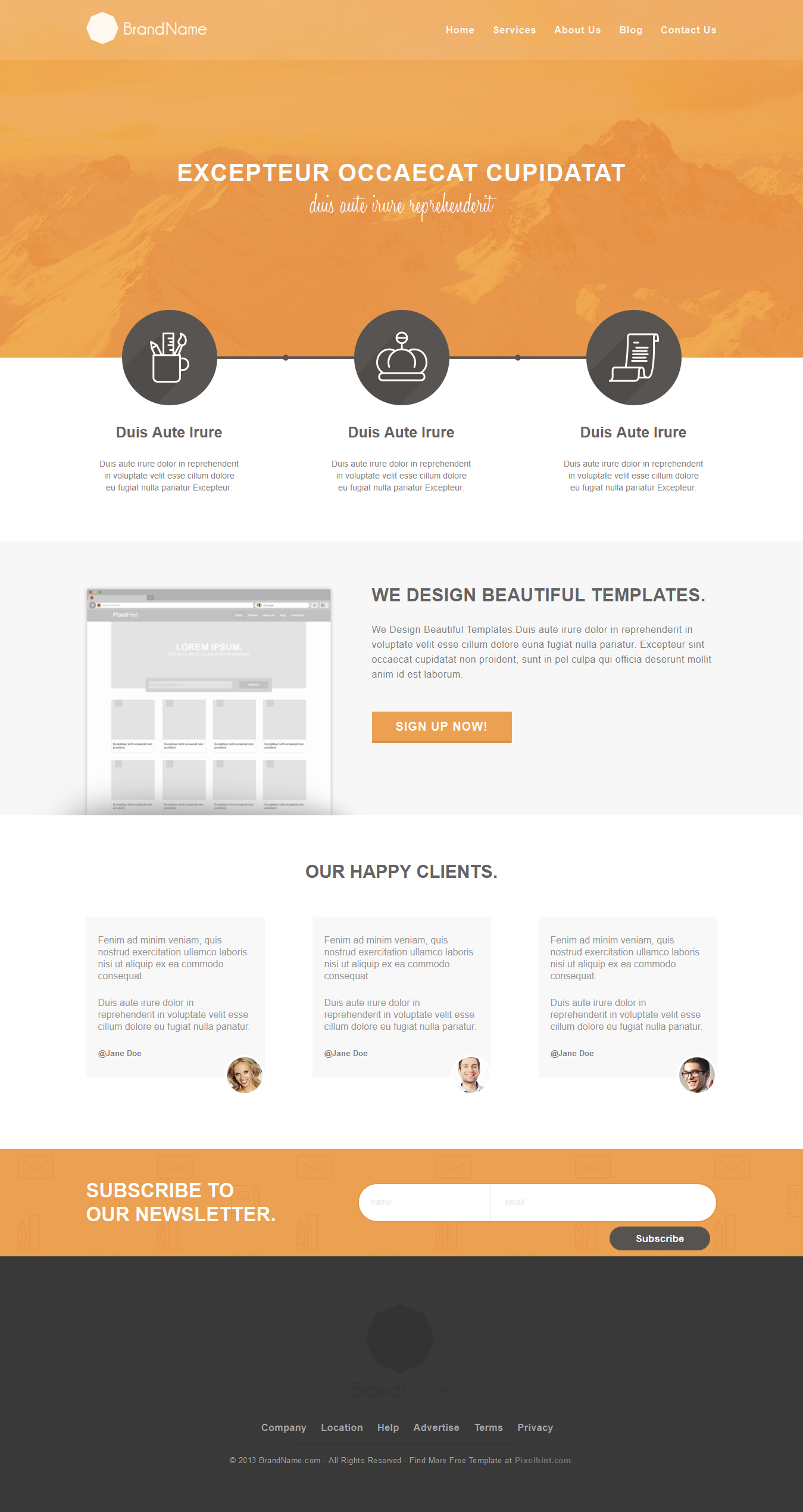 Free Beautiful And Clean Html5 Template Freebie Html5template Freedesign Web Design Web Design Tutorials Html5 Templates