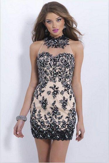 ea76c8e17 Mujer  Moda y Arte  Vestidos Cortos Entallados de Fiesta de Promoción 2015 -2016