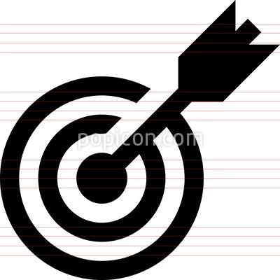 Target Bullseye Vector Icon Icon Vector Icons Bullseye