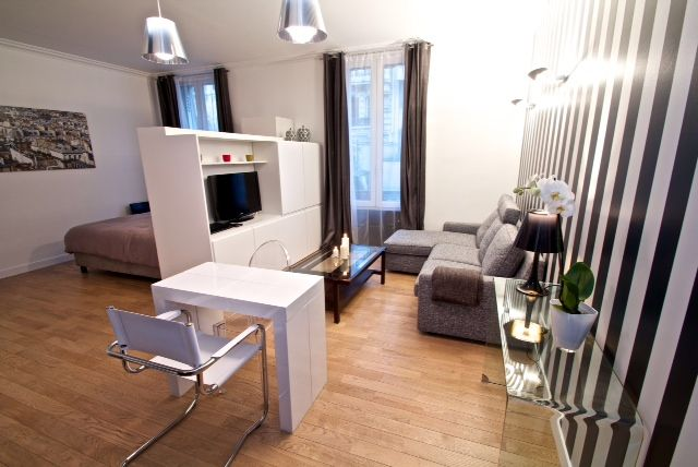 Rénovation de studio à Paris http://www.habitatpresto.com/chantier ...