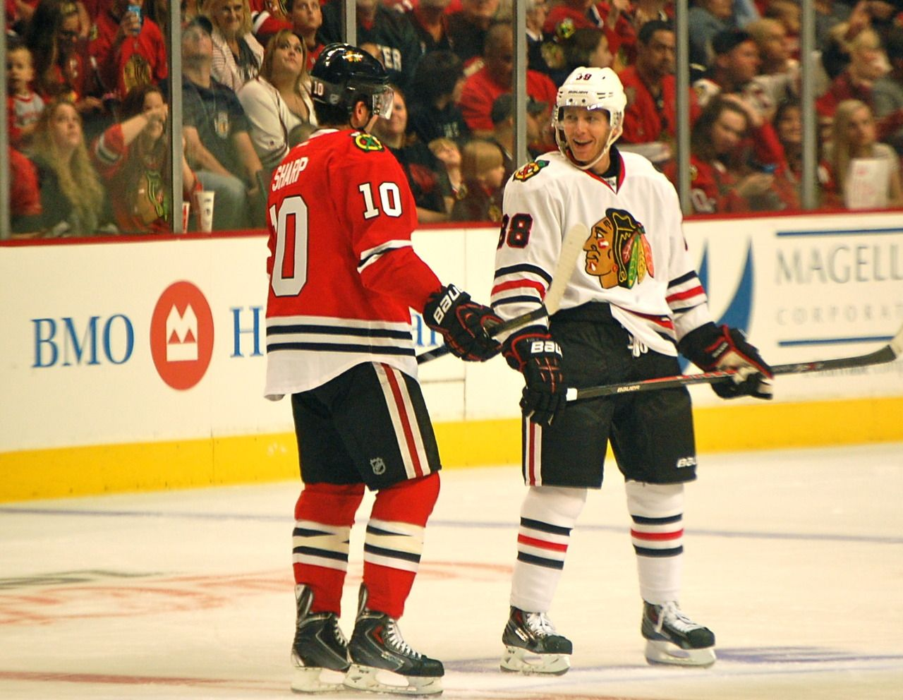 Sharpie & Kaner (With images) Blackhawks hockey
