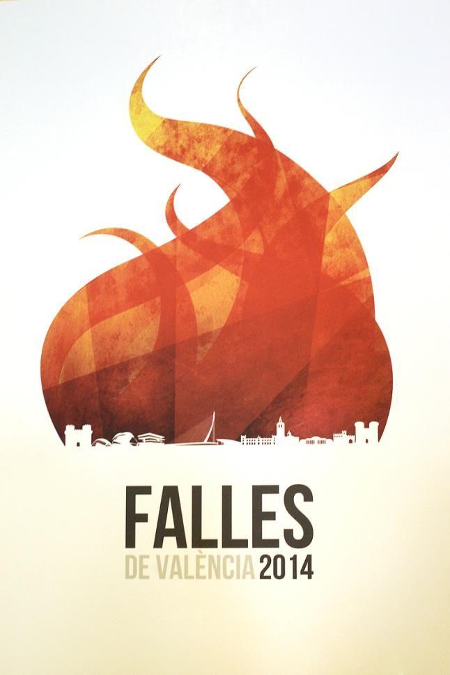 Cartel Fallas Valencia año 2014